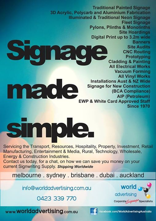 Sinage Made Simple Flyer