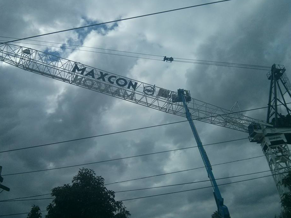 Maxcon 1 Tower Crane Sign
