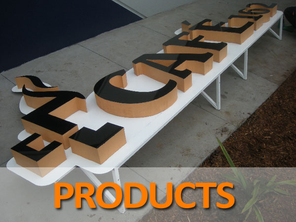 Products Signage Melbourne