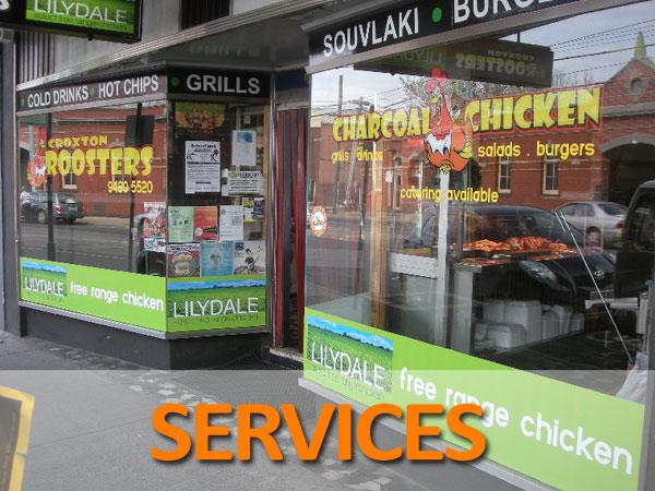 Services Signage Melbourne